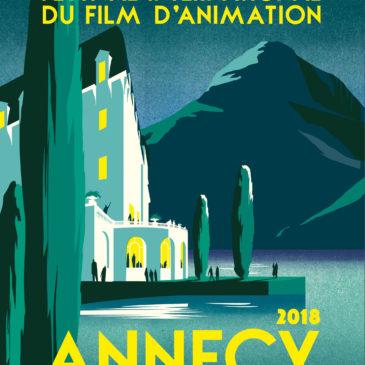 Thomas Déborde au Festival d'Animation d'Annecy du 13 au 15 Juin 2018