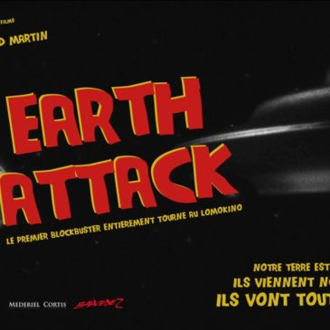 La bande originale du film « Earth Attack » (Réal. Arnaud Martin) est disponible